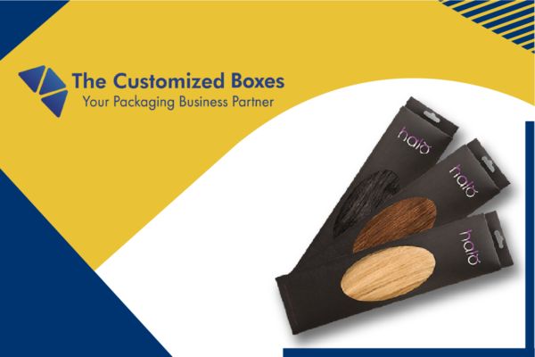 Hair extension packaging boxes