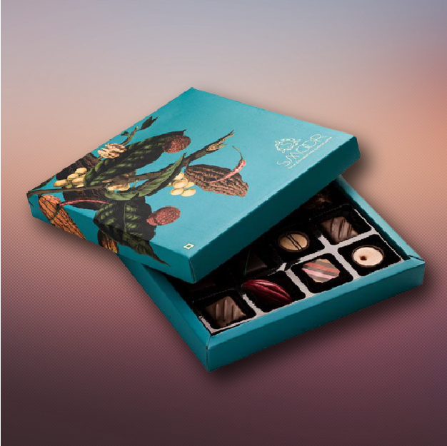 Printed Chocolate boxes