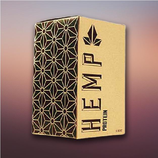 custom printed hemp boxes