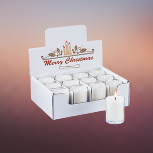display candle boxes