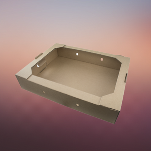 hybrid box food tray