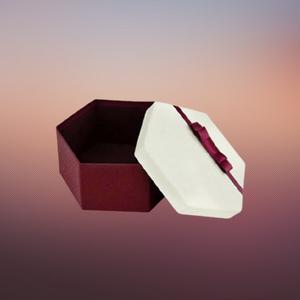 luxury hexagonal boxes