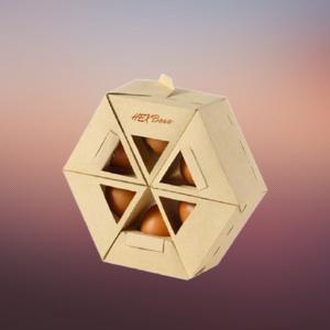 window hexagonal boxes