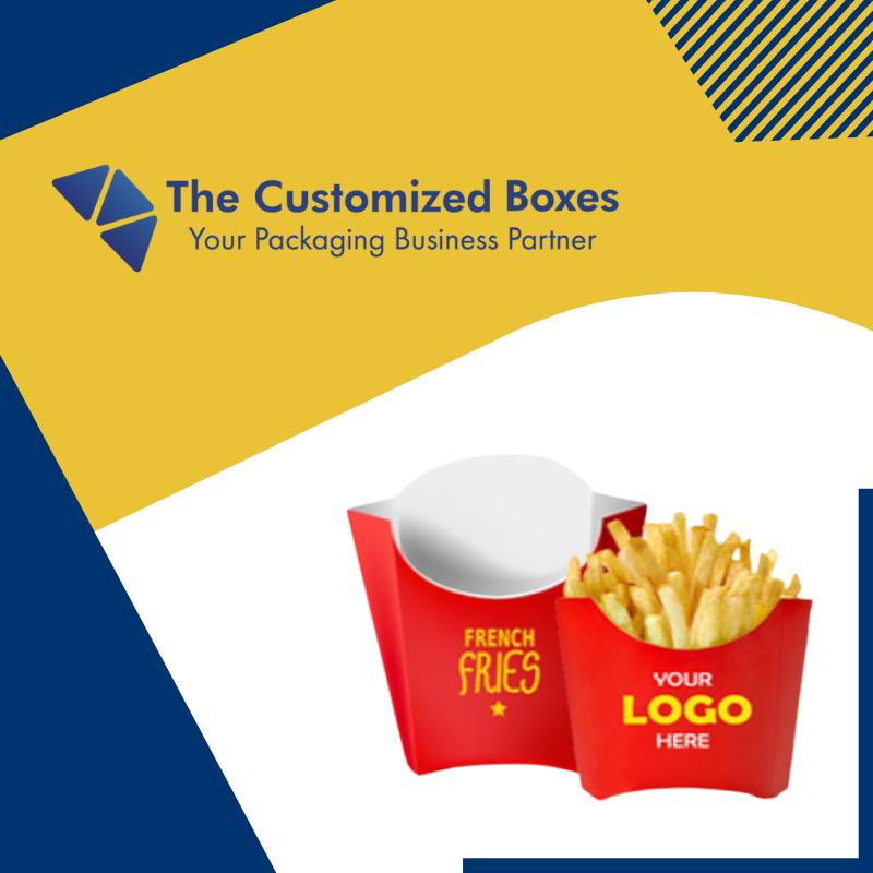 Custom Fries Boxes