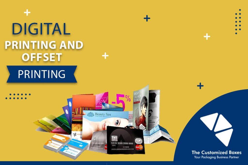 Digital Printing and Offset Printing