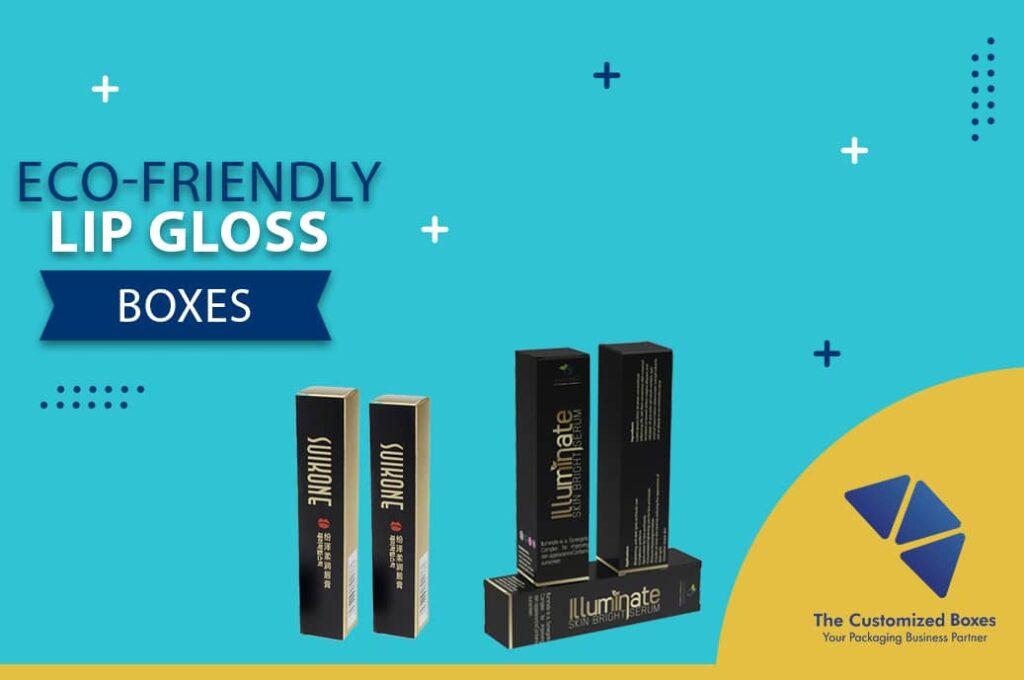 Eco-Friendly Lip Gloss Boxes