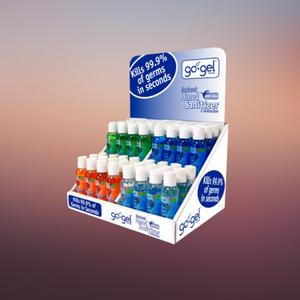 sanitizer display boxes