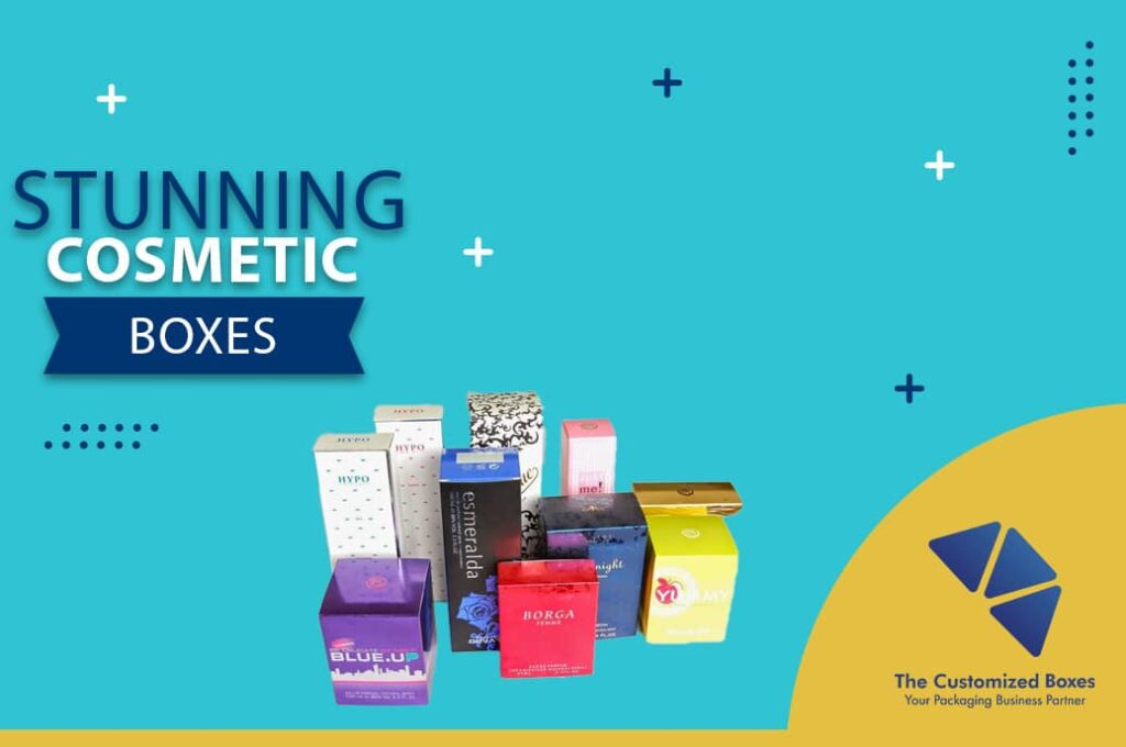 Stunning Cosmetic Boxes